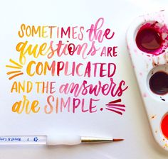 Hand lettered quotes, calligraphy, brush calligraphy, penmanship, lettering, hand lettering, watercolor lettering