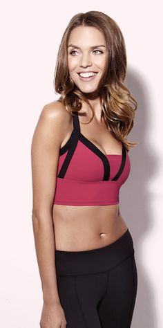 Spring Love - the Banded Beauty Bralet by Beyond Yoga - Follow @beyondyoga & repin today for your chance to win it!