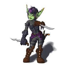 Goblin Rogue by ~Wosukoart on deviantART