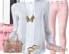 cute and simple outfit