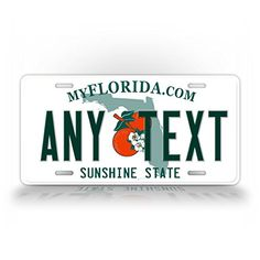 """CUSTOM FLORIDA License Plate  I WANT IT TO SAY """"RODEO 95"""""""