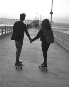 a couple that skates together, stays together. :) @Kylie Knapp