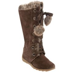 SALE - Sporto Paula Waterproof Boots Womens Brown Suede - Was $89.00 - SAVE $40.00. BUY Now - ONLY $49.00