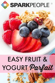 A yummy low fat snack via @SparkPeople