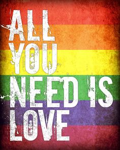 All You Need Is Love 8 x 10 archival print by PrintRevolution