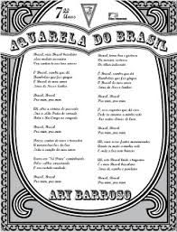 Resultado De Imagem Para Letra Da Musica Aquarela Do Brasil