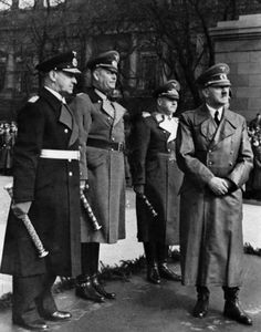 Admiral Raeder, General Keitel, General Milch and... | Adolf Hitler Photos and Historical Info