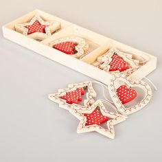 Nordic wooden decorations