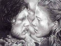 You know nothing Jon Snow. I have started drawing Jon Snow and Ygritte from my favorite show Game of thrones. Game of Thrones: Ygritte and Jon Snow WIP Ygritte And Jon Snow, Eddard Stark, I Love Games, Game Of Thrones Art, Great Tv Shows, Mother Of Dragons, Medieval Fantasy, Winter Is Coming, Lovers Art
