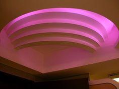 Iluminación Led RGB en plafones superpuestos, la más alta calidad y durabilidad, Sinapsis controls.