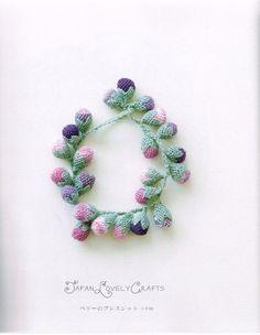 Turkish Oya Lace Accessories Kou Nanami por JapanLovelyCrafts
