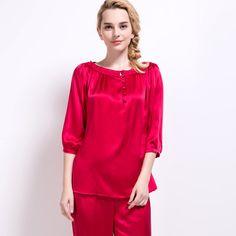 silk pajamas bridesmaids robes silk real silk pajamas    https://www.snowbedding.com/