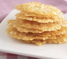 PALEO Parmesan Crisps (Sugar Free, Egg Free, Gluten Free, Soy Free)