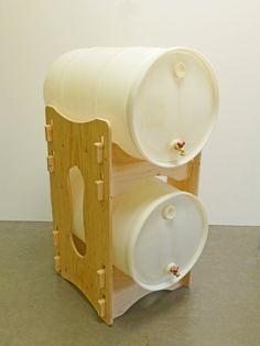 Water Barrel Storage Rack Barrels #FreightCenter