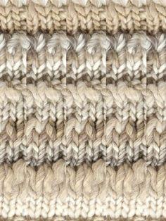 Fantastic Stitch Pattern.  Ushuaia Neck Warmer {free}.