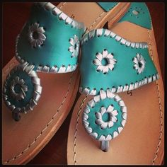 turquoise and silver jack rodgers. yes please