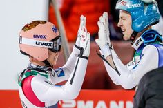 Stefan Kraft Photos Photos - Stefan Kraft of Austria takes 1st place during the FIS Nordic World Cup Four Hills Tournament on December 30, 2016 in Oberstdorf, Germany. - FIS Nordic World Cup - Four Hills Tournament