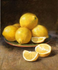 Lemons by Robert Papp - Lemons Painting - Lemons Fine Art Prints and Posters for Sale