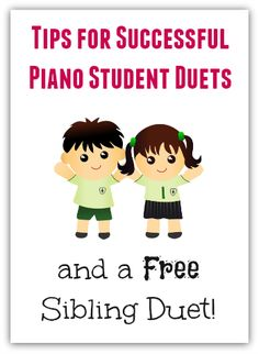 "If You Teach Siblings (Or Best Buds) Try Out This Duet And These 4 Strategies For ""Playing In Pairs"""