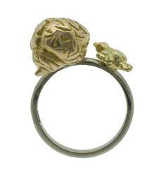 Birdbrain Ring. ££1,456.25, By Rockcakes on Etsy.