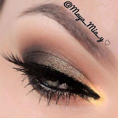 I'm gonna try this look today. I'll skip the golden-ish highlight part though!