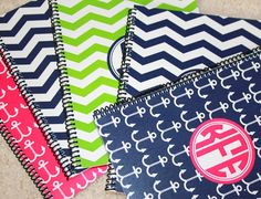 Personalized Spiral Note book Back to school by sweetgrassprints, $12.00