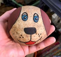 Painted rock animals - 40 Awesome DIY Projects Painted Rocks Animals Dogs for Summer Ideas – Painted rock animals Rock Painting Patterns, Rock Painting Ideas Easy, Rock Painting Designs, Paint Designs, Rock Painting For Kids, Painted Rock Animals, Painted Rocks Craft, Hand Painted Rocks, Painting Animals On Rocks