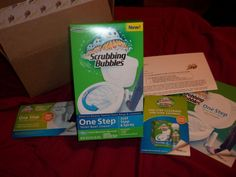 Mary's Craft Nook: Scrubbing Bubbles One Step Toilet Bowl Cleaner - Bzzagent Campaign!