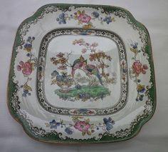 "Other Porcelain & Ceramics - Beautiful Vintage Copeland Spode, England ""Eden"" cake plate. Reg. No: 615991 for sale in Durban (ID:228013521)"