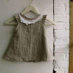 linen baby tunic.