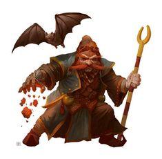 © Paizo Publishing, LLC Dwarf Evoker character design for Paizo Publishing's Pathfinder NPC Codex. Fantasy Dwarf, Fantasy Rpg, Medieval Fantasy, Character Concept, Character Art, Character Design, Character Ideas, Concept Art, Fantasy Portraits