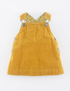 Cord Dungaree Dress [boden]