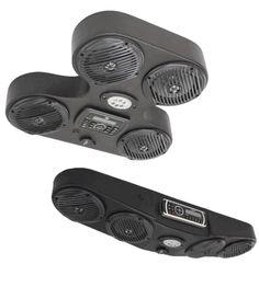 4 Speaker Overhead Console by Froghead Industries - Honda Pioneer 1000