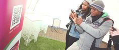 The QR treasure hunt created great excitement on campus. Students could win a Samsung Galaxy2 tablet.