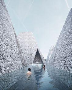 Waterfront Cultural Center | Kengo Kuma and associates