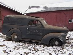 1939 Willys panel Van Holden Body
