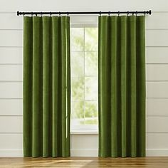 Windsor Green Curtains