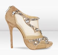 Theresa here's another pair that I love...I believe these are Jimmy Choo..
