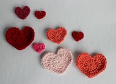 Moose Mouse Creations: Quick and Easy Heart Crochet Patterns in 4 Sizes