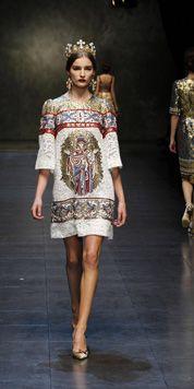 Défilé Femme Dolce & Gabbana - Vidéo et photos Automne-Hiver2014