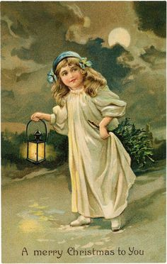 This is a charming collection of Christmas Girl Images! These are all free Vintage Christmas Images that are perfect to use in your Handmade Holiday crafts. Mary Christmas, Christmas Fairy, Victorian Christmas, Christmas Greetings, Vintage Fairies, Vintage Girls, Vintage Christmas Images, Christmas Pictures