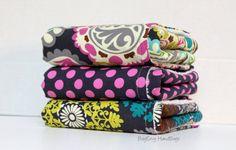 BagEnvy Handbags' Burp Cloths   Set Of 3  Roco Paisley  by BagEnvy