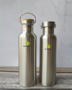 🌱Our eco-friendly stainless steel drinking bottles. 🌱With stylish shape and BPA free naturl bamboo lid or stainless steel lid. 🌱🌱🌱🌱🌱🌱🌱🌱🌱🌱🌱🌱🌱🌱🌱  #ecobottle #reusablebottle #ecobusiness #ecoliving #nomoreplastic #beachclean #naturalproducts #plasticfreechallenge #livesustainably #sustainableliving #environmentallyfriendly #sustainablelifestyle #zerowaste #bamboobottle #ecoliving #gogreen Stainless Steel Drink Bottles, Clean Beach, Sustainable Living, Eco Friendly, Drinking, Bamboo, Water Bottle, Shapes, Stylish