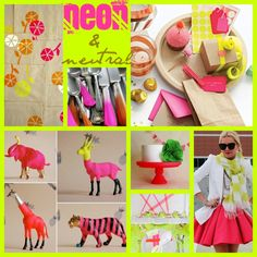 Neon and neutral color inspiration?