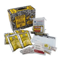 In this survival kit you will find all the highest quality freshest components available and a 5 year minimum shelf life. Tornado Preparedness, Home Emergency Kit, Basic First Aid Kit, Food Rations, Voodoo Tactical, Purified Water, Make A Family, Shelf Life, Coast Guard