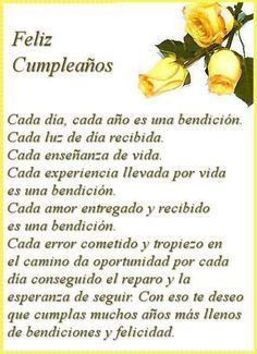 Happy Birthday Quotes In Spanish Frases Ideas Happy Birthday Celebration, Happy Birthday Wishes Cards, Birthday Wishes Quotes, Happy Wishes, Happy Birthday In Spanish, Happy Birthday Pictures, Birthday Images, Birthday Poems, Popular Birthdays