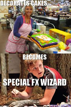 i never understood this correlation: decorates cakes...becomes special fx wizard??