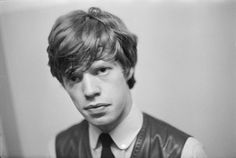 Young Mick Jagger of the early Rolling Stones