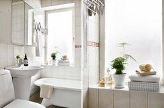 Alla bilder - great simple bathroom space