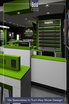 We create custom store designs at stock fixture pricing. We take your store floor plan, design a full color store rendering like the pin images. Then quote and manufacturer your unique store, it's easy! Drop us a email and we will get in contact with you. Visit our dedicated sites: bolddisplaycbd.com bolddisplayvape.com #storedesign #retailstoredesign #Vapestoredesign #instoredesign #storelayout #retailstoreinterior #wellnessstoredesign #storefixturedisplays #retaildesign Vape Store Design, Retail Store Design, Store Layout, Plan Design, Pin Image, Arcade, Floor Plans, Quote, Drop
